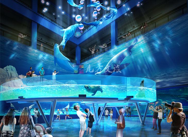 沈阳国瑞室内海洋馆设计